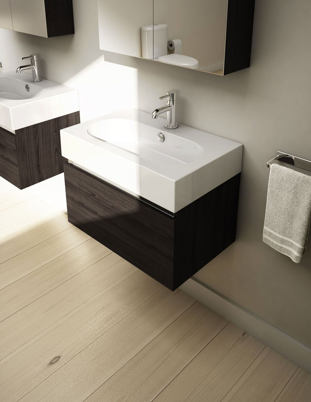 60cm-single-drawer-wall-mounted-unit-in-wenge-