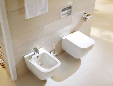 Wall-hung-WC-&-bidet